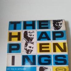 Discos de vinilo: THE HAPPENINGS SEE YOU IN SEPTEMBER + 3 ( 1967 SONOPLAY ESPAÑA ) MUY BUEN ESTADO. Lote 278968863