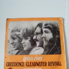 Discos de vinilo: CREEDENCE CLEARWATER REVIVAL GREEN RIVER / COMMOTION ( 1969 AMERICA ESPAÑA ). Lote 278970673
