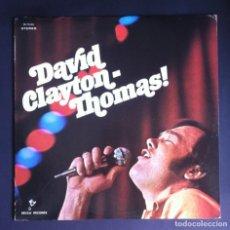 Discos de vinilo: DAVID CLAYTON-THOMAS - LP USA 1969 - DECCA. Lote 278971708