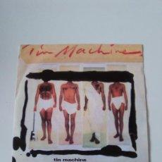 Discos de vinilo: TIN MACHINE BABY UNIVERSAL / YOU BELONG IN ROCK 'N ROLL ( 1991 LONDON GERMANY ) DAVID BOWIE. Lote 278971758