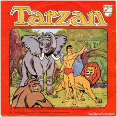 Discos de vinilo: J. TORREGROSA / A. GARRIDO – TARZAN - SG SPAIN 1979 - PHILIPS 60 29 454. Lote 278971833