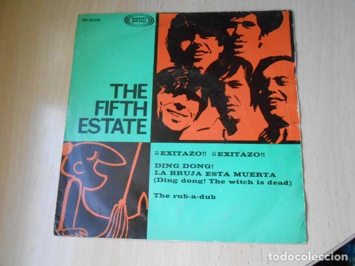 FIFTH ESTATE, THE, SG, DING DONG LA BRUJA ESTA MUERTA + 1, AÑO 1967 (Música - Discos - Singles Vinilo - Pop - Rock Internacional de los 50 y 60)