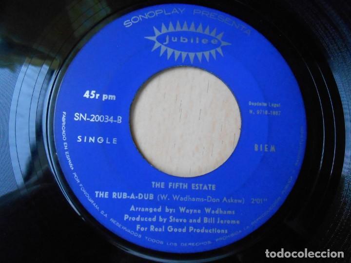 Discos de vinilo: FIFTH ESTATE, THE, SG, DING DONG LA BRUJA ESTA MUERTA + 1, AÑO 1967 - Foto 4 - 278975843