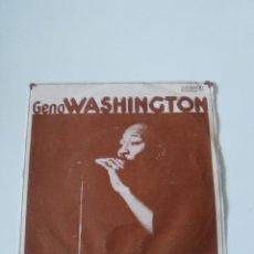 Discos de vinilo: GENO WASHINGTON BOOGIE QUEEN / WHY DID YOU GO AWAY ( 1977 DJM ESPAÑA ). Lote 278975908