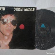 Disques de vinyle: STREET HASSLE - LOU REED. Lote 278795573
