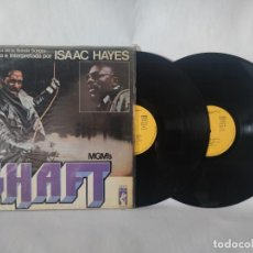 "Disques de vinyle: ""BANDA SONORA ORIGINAL DE LA PELÍCULA """"SHAFT"""""" - ISAAC HAYES. Lote 278796003"