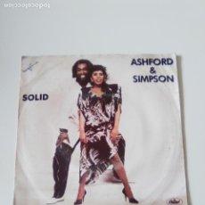 Discos de vinilo: ASHFORD & SIMPSON SOLID ( 1984 CAPITOL PORTUGAL ). Lote 278977138