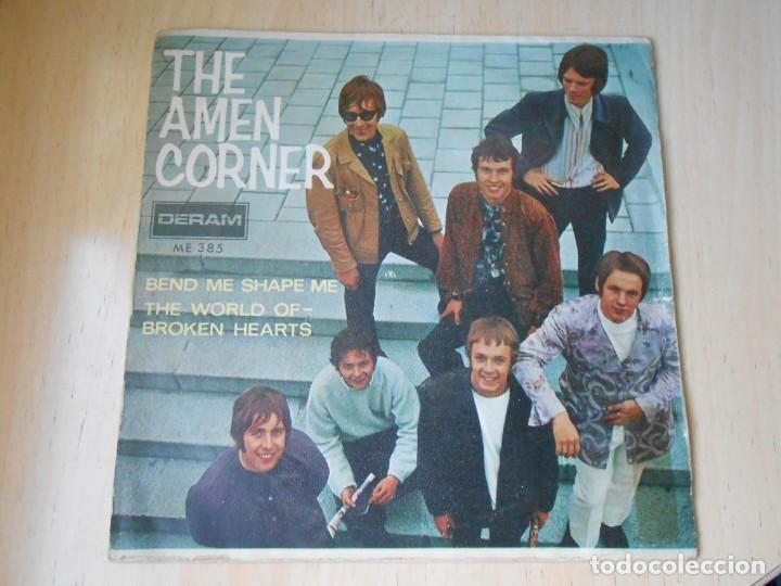 AMEN CORNER, THE, SG, BEND ME SHAPE ME + 1, AÑO 1967 (Música - Discos - Singles Vinilo - Pop - Rock Internacional de los 50 y 60)