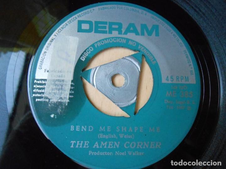 Discos de vinilo: AMEN CORNER, THE, SG, BEND ME SHAPE ME + 1, AÑO 1967 - Foto 3 - 278977823