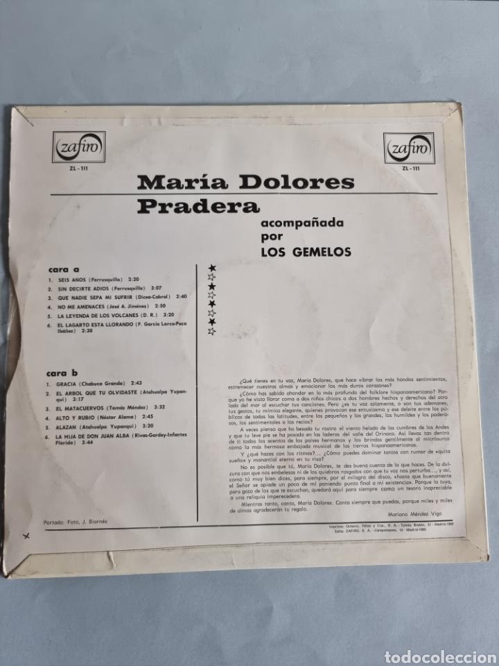Discos de vinilo: Maria Dolores Pradera 4 LPs - Foto 3 - 278978008