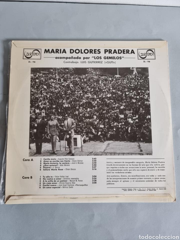 Discos de vinilo: Maria Dolores Pradera 4 LPs - Foto 5 - 278978008