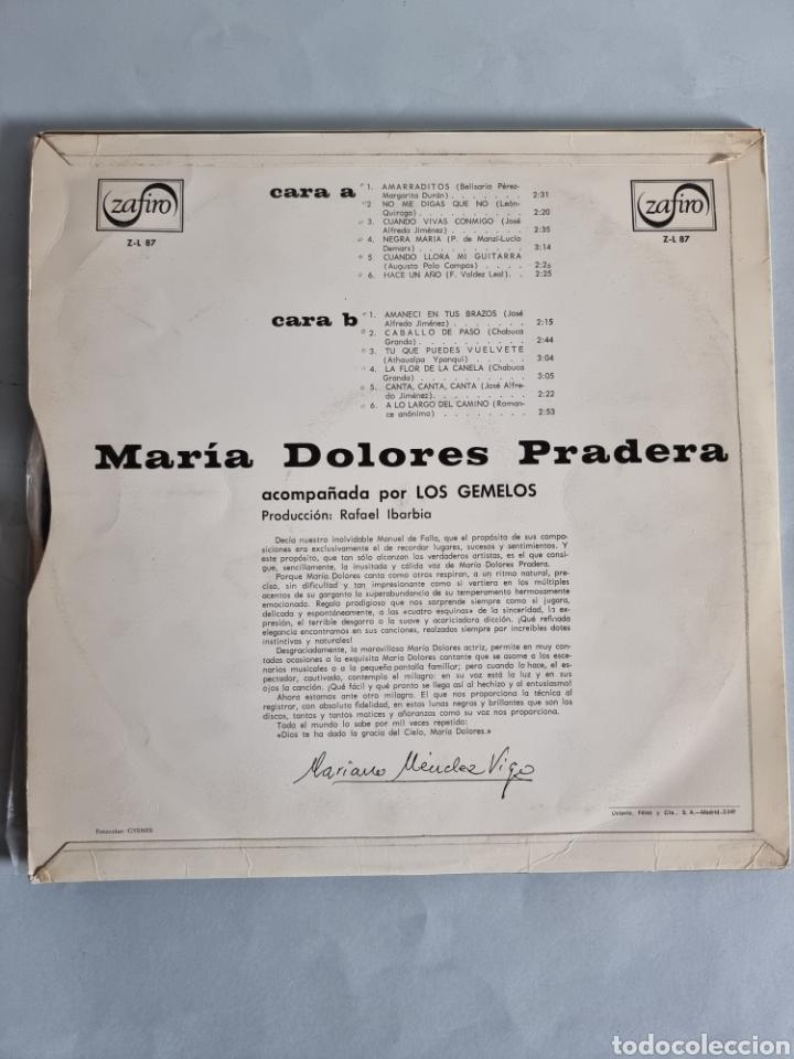 Discos de vinilo: Maria Dolores Pradera 4 LPs - Foto 7 - 278978008