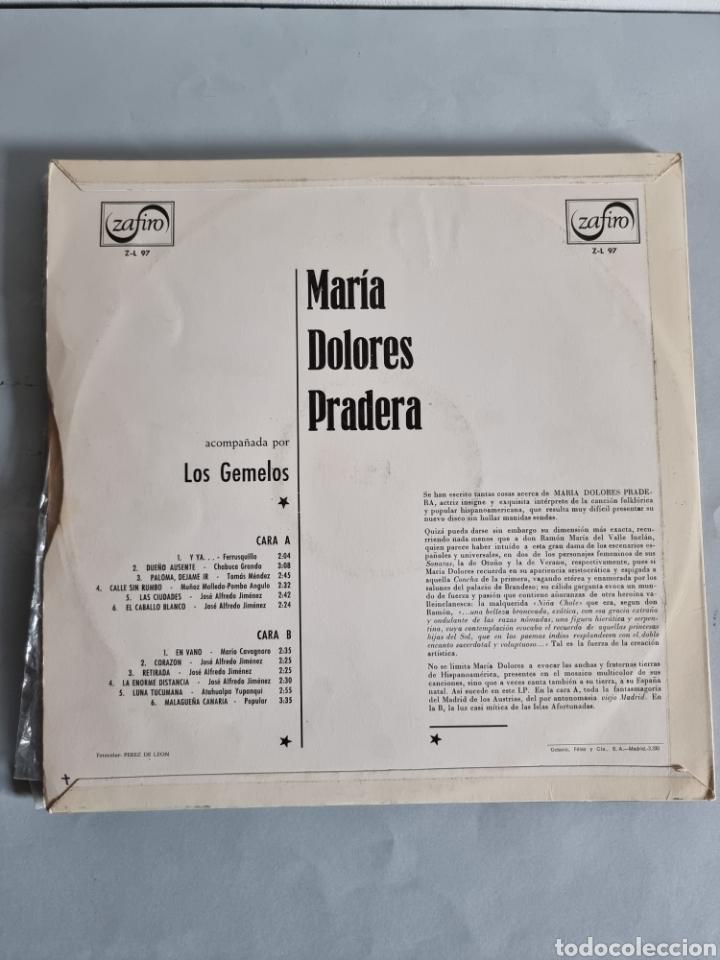 Discos de vinilo: Maria Dolores Pradera 4 LPs - Foto 9 - 278978008