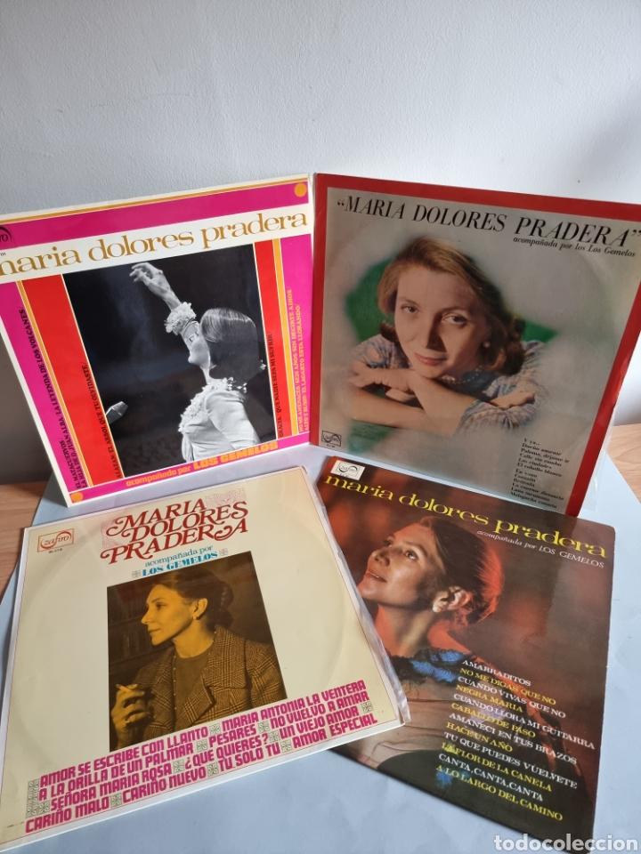 MARIA DOLORES PRADERA 4 LP'S (Música - Discos - LP Vinilo - Otros Festivales de la Canción)