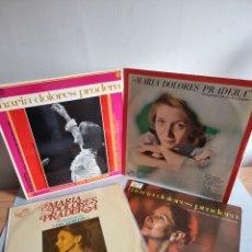 Discos de vinilo: MARIA DOLORES PRADERA 4 LP'S. Lote 278978008
