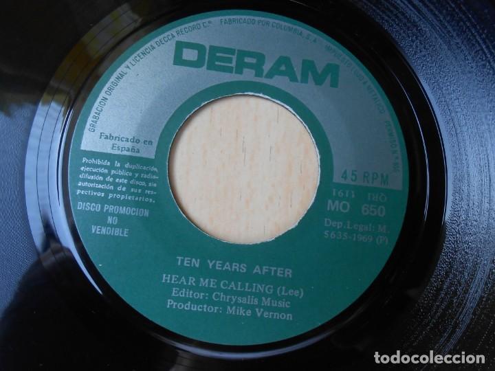 Discos de vinilo: TEN YEARS AFTER, SG, I´M GOING HOME + 1, AÑO 1969 - Foto 4 - 278979038