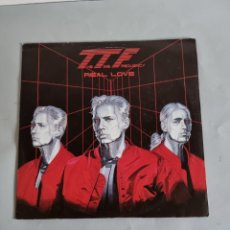 Discos de vinilo: THE TIME FREQUENCY, REAL LOVE. Lote 278980798
