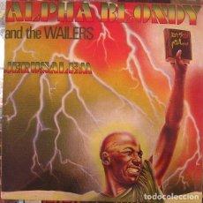 Discos de vinilo: ALPHA BLONDY & THE WAILERS JÉRUSALEM - NUEVO PRECINTADO. Lote 278981613