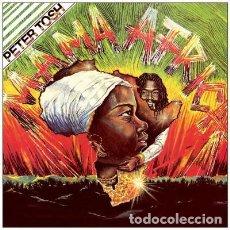 Discos de vinilo: PETER TOSH MAMA AFRICA - VINILO DE 180 GRAMOS - NUEVO PRECINTADO. Lote 278983263