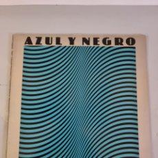 Discos de vinilo: AZUL Y NEGRO, LP TITULO; LA NOCHE. Lote 279246193