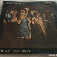 Discos de vinilo: SINGLE THE ROLLING STONES - HONKY TONK WOMEN - YOU CAN'T ALWAYS GET WHAT YOU WANT - PEDIDO MINIMO 7€. Lote 279322083
