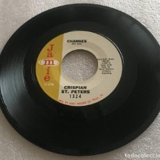 Discos de vinilo: SINGLE CISPIAN ST PETERS 1324 - CHANGES - MY LITTLE BROWN EYES - JAMIE - PEDIDO MINIMO 7€. Lote 279324258