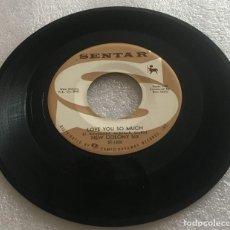 Discos de vinilo: SINGLE NEW COLONY SIX - LOVE YOU SO MUCH - LET ME LOVE YOU - SENTAR S71205 - PEDIDO MINIMO 7€. Lote 279326668