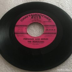 Discos de vinilo: SINGLE THE MURMAIDS BAND - POPSICLES AND ICICLES - HUNTINGTON FLATS - CHATTAHOOCHEE-PEDIDO MINIMO 7€. Lote 279327193