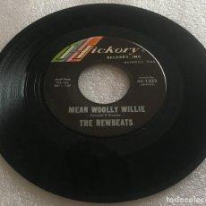 Discos de vinilo: SINGLE THE NEWBEATS - RUN BABY RUN - MEAN WOOLLY WILLIE - HICKORY 1332 -PEDIDO MINIMO 7€. Lote 279328133