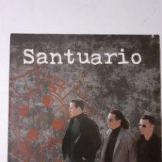 Discos de vinilo: SANTUARIO. LP. 1993 ESPAÑA. 4G-0501. DISCO VG++. CARÁTULA VG++.. Lote 279328213