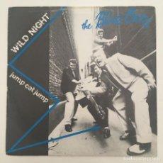 Discos de vinilo: BLUE CATS – WILD NIGHT, UK 1981 CHARLY RECORDS. Lote 279336738