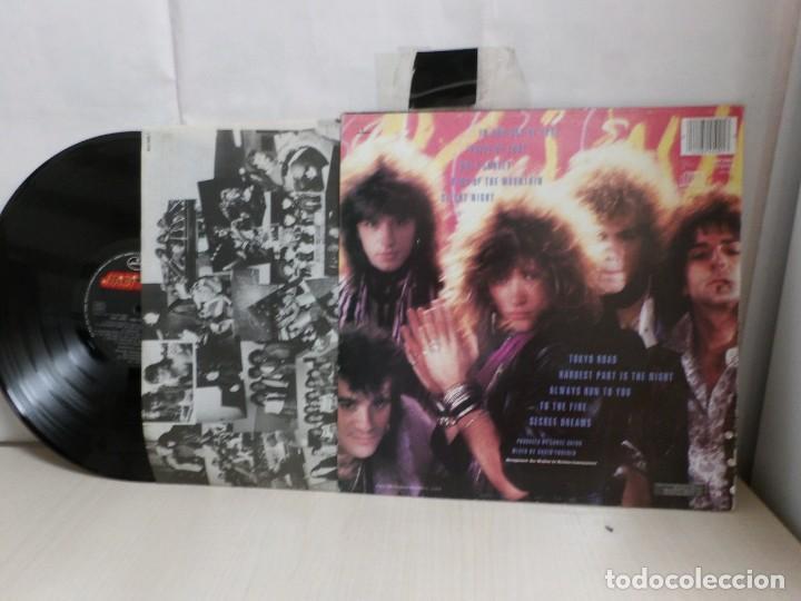 Discos de vinilo: BON JOVI--78000o FAHRENHEIT--MADRID- 1985--POLYGRAM- - Foto 4 - 279345258