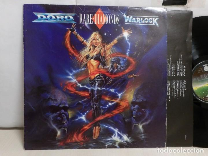 DORO RARE DIAMONDS WARLOCK--1991--VERTIGO--POLYGRAM--MADRID-- (Música - Discos - LP Vinilo - Heavy - Metal)