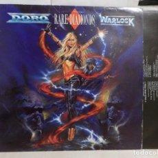 Discos de vinilo: DORO RARE DIAMONDS WARLOCK--1991--VERTIGO--POLYGRAM--MADRID--. Lote 279345863