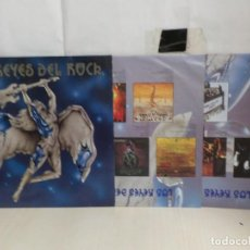 Discos de vinilo: LOS REYES DEL ROCK--WARNER MUSIC--1992--MADE IN GERMANY----MADRID-2LP-SPAIN. Lote 279346388