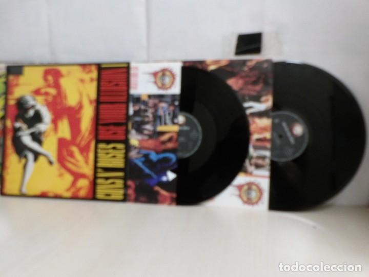 GUNSN' ROSES. USE YOUR ILLUSION I --2 LP --GEFFEN- RECORDS -MADRID--1991--BMG-- (Música - Discos - LP Vinilo - Heavy - Metal)