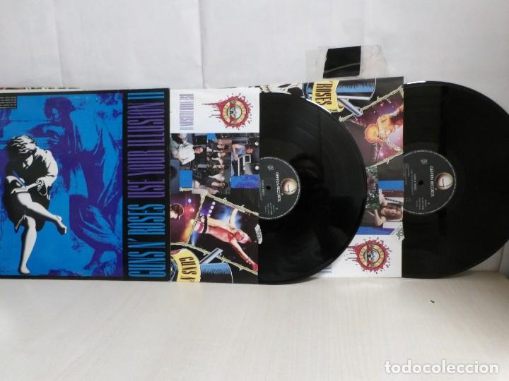 GUNSN' ROSES -USE YOUR ILLUSION. II--GEFFEN RECORDS --- 2LP--1991--MADRID- (Música - Discos - LP Vinilo - Heavy - Metal)