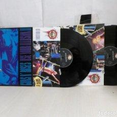 Discos de vinilo: GUNSN' ROSES -USE YOUR ILLUSION. II--GEFFEN RECORDS --- 2LP--1991--MADRID-. Lote 279346893