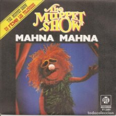 Discos de vinilo: THE MUPPET SHOW (LOS TELEÑECOS) - MAHNA MAHNA / HALFWAY DOWN THE STAIRS. Lote 279355468