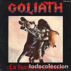 Discos de vinilo: GOLIATH (11) – LA FUERZA DEL ROCK. Lote 279362173