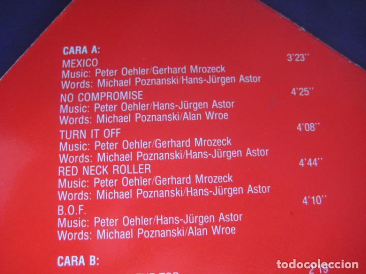Discos de vinilo: Poker - Red Neck Roller - LP PDI 1983 - HARD ROCK 80S METAL - VINILO SIN USO , PORTADA ROZADA - Foto 3 - 279362958