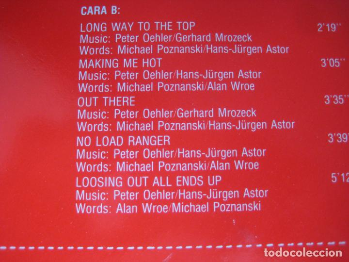 Discos de vinilo: Poker - Red Neck Roller - LP PDI 1983 - HARD ROCK 80S METAL - VINILO SIN USO , PORTADA ROZADA - Foto 4 - 279362958