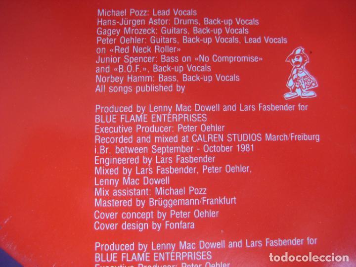 Discos de vinilo: Poker - Red Neck Roller - LP PDI 1983 - HARD ROCK 80S METAL - VINILO SIN USO , PORTADA ROZADA - Foto 5 - 279362958