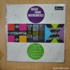 Discos de vinilo: VARIOS - MUSIC FROM MATHEMATICS - LP. Lote 279363458