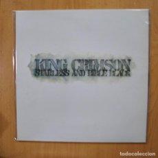 Discos de vinilo: KING CRIMSON - STAPLESS AND DOBLE BLACK - GATEFOLD LP. Lote 279363728