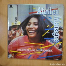 Discos de vinilo: VARIOS - ABRIL EN MANAGUA - GATEFOLD 2 LP. Lote 279363998
