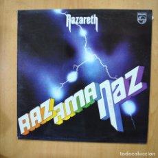 Discos de vinilo: NAZARETH - RAZ AMA NAZ - LP. Lote 279364098