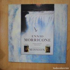Discos de vinilo: ENNIO MORRICONE - THE MISSION - LP. Lote 279364463