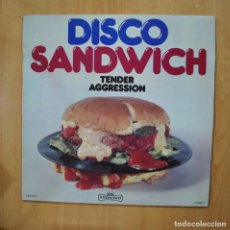 Discos de vinilo: TENDER AGRESSION - DISCO SANDWICH - LP. Lote 279364578