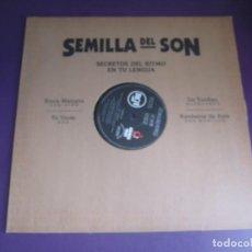 Discos de vinilo: SEMILLA DEL SON - MAXI SINGLE RCA 1992 - BENI MORE - JOSEITO FERNANDEZ - TRIO MATAMOROS - M VALDES. Lote 279364613